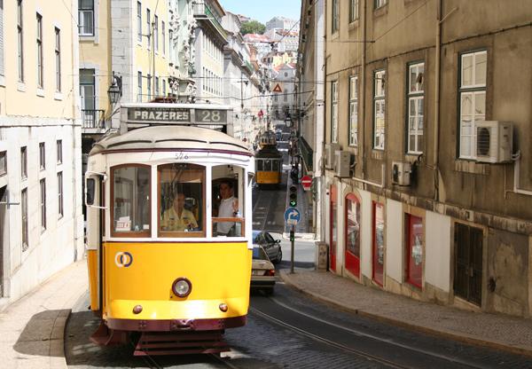Image result for tram 28 lisbon